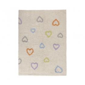 tapis enfant corazones multicolore lorena canals