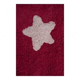 tapis enfant stars fuchsia lorena canals