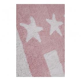 tapis enfant flag american baby rose lorena canals