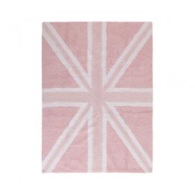 tapis enfant flag england baby rose lorena canals