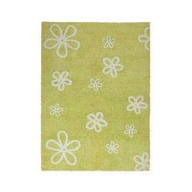 tapis enfant flores vert lorena canals