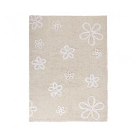 tapis enfant flores beigelorena canals