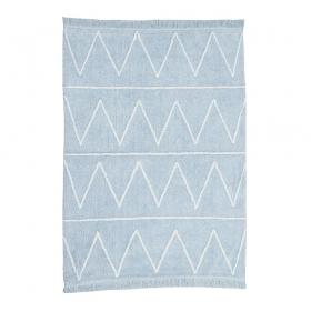 tapis enfant hippy soft bleu lorena canals