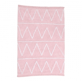 tapis enfant hippy soft rose lorena canals