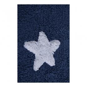 tapis enfant navy stars bleu lorena canals