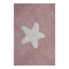 tapis enfant stars rose lorena canals