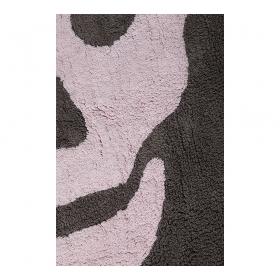 tapis enfant skull dark gris et rose lorena canals