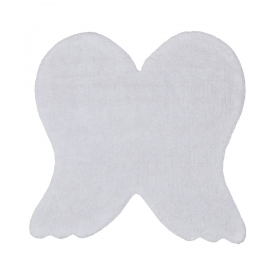 tapis enfant silhouette wings gris lorena canals