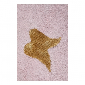 tapis enfant wings rose lorena canals
