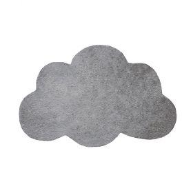 tapis enfant nuage filigree gris lilipinso