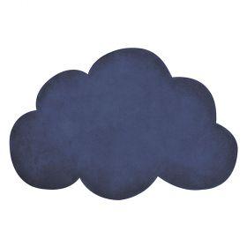 tapis enfant nuage true navy bleu marine lilipinso