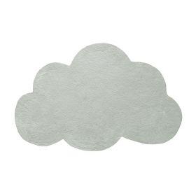 tapis enfant nuage mercury gris vert lilipinso