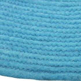 tapis rond bleu enfant halo 1 pied sur terre