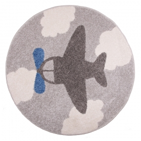 tapis enfant little plane nattiot