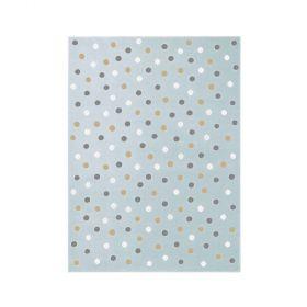 tapis enfant dot bleu clair lorena canals