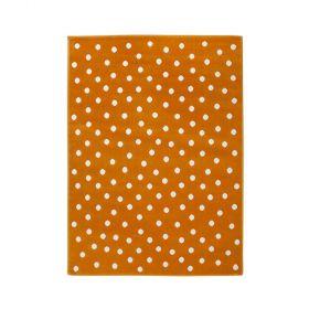 tapis lorena canals orange dot