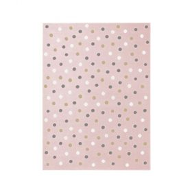 tapis lorena canals dot rose
