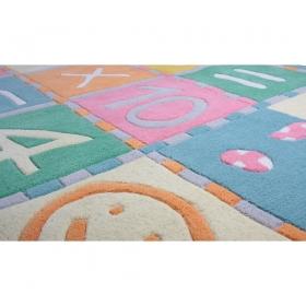 best tapis enfant marelle with tapis marelle maison du monde. Black Bedroom Furniture Sets. Home Design Ideas