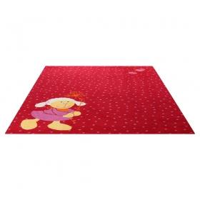 tapis enfant schnuggi rouge sigikid