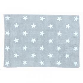 tapis enfant stars gris lorena canals