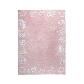tapis enfant granja rose lorena canals