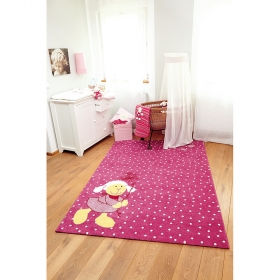tapis enfant schnuggi sigikid rose