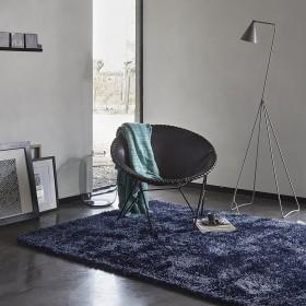 tapis moderne new glamour esprit home bleu