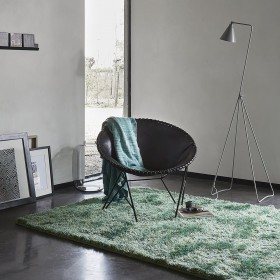 tapis vert moderne new glamour esprit home