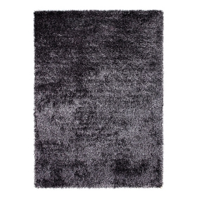 tapis cosy glamour anthracite esprit home shaggy