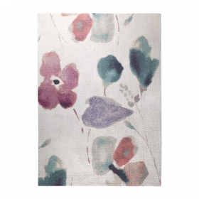 tapis dream flower blanc esprit home