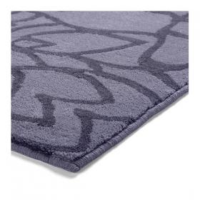 tapis de bain flower shower gris esprit home