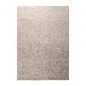 tapis shaggy cosy glamour blanc esprit home