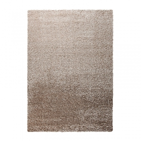 tapis shaggy cosy glamour taupe esprit home