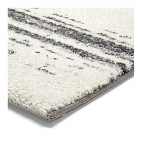 tapis madison blanc rayé esprit home