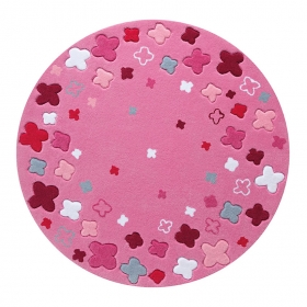 tapis bloom field rose esprit home