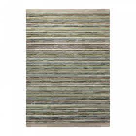 tapis moderne samba stripes vert - esprit home