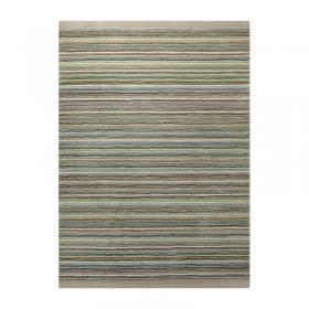 tapis moderne samba stripes vert esprit home