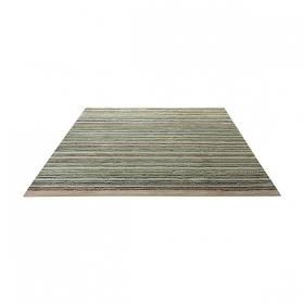 tapis samba stripes moderne vert esprit home