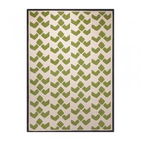 tapis moderne vert esprit home bauhaus