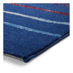 tapis joyful stripes bleu esprit home