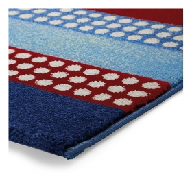 tapis space stripes bleu esprit home