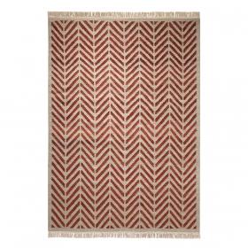 tapis ethno rouge esprit home