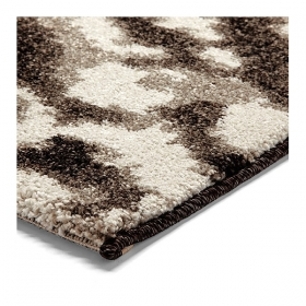tapis marron moderne esprit home madison