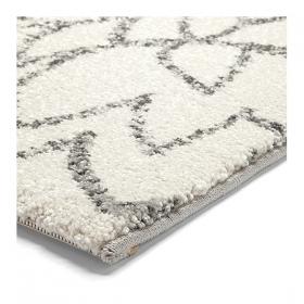 tapis blanc esprit home madison motif floral