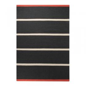tapis esprit home simple stripe noir