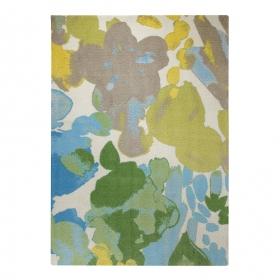 tapis beige multicolore esprit home spring flower