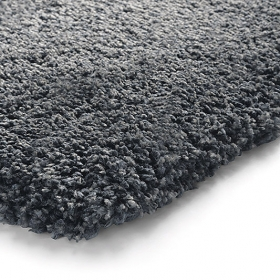 tapis anthracite esprit home super glamour shaggy