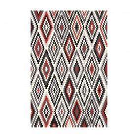 tapis rouge fresh kelim esprit home