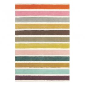 tapis estella vogue blanc multicolore brink & campman