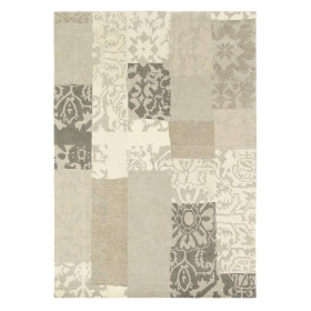 tapis everest patchwork beige brink & campman